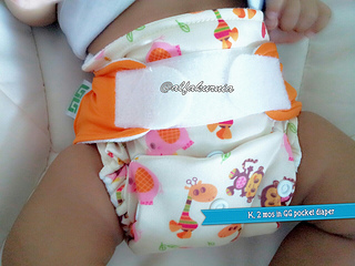 Cloth Diaper Week, Day 1: GG Original Clodi