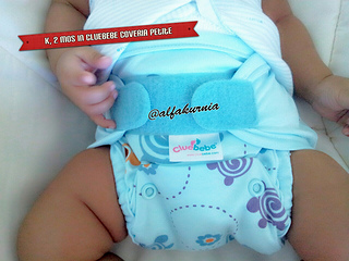 Cloth Diaper Week, Day 2: Cluebebe Coveria Petite