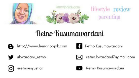 retno kusumawardani, blogger, youtuber, blogger perempuan, arisan link, lemaripojok.com, lemari pojok, blog lemari pojok