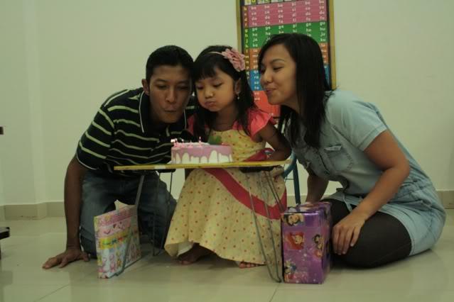 Cinta's 5th Birthday