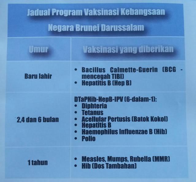 Program Vaksinasi di Brunei