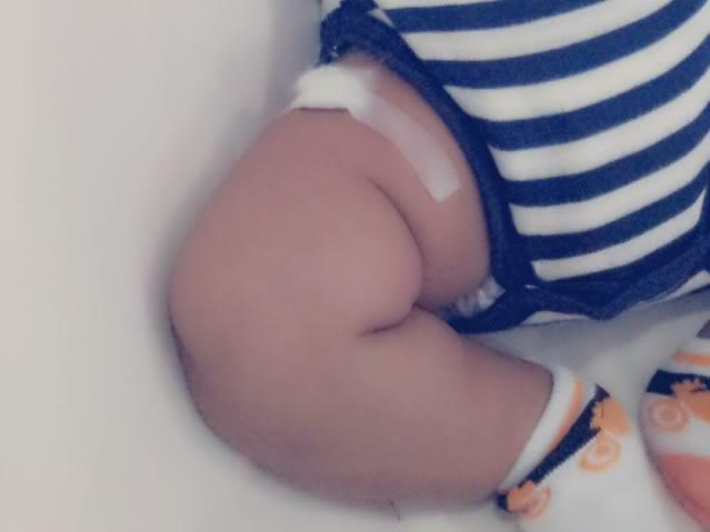 Keenan vaksinasi 6-in-1 di Brunei