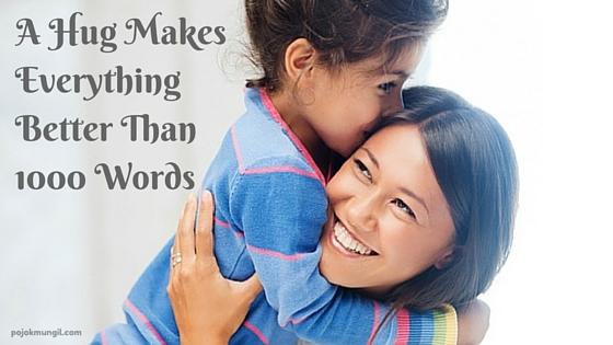 hug, pelukan, hangatnya pelukan ibu, makna pelukan