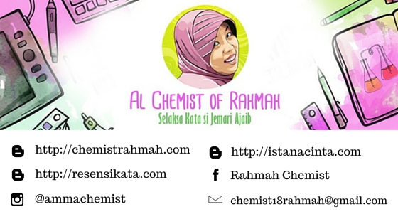 arisan link, blogger perempuan, rahmah chemist, istana cinta, working at home mom, profesional blogger