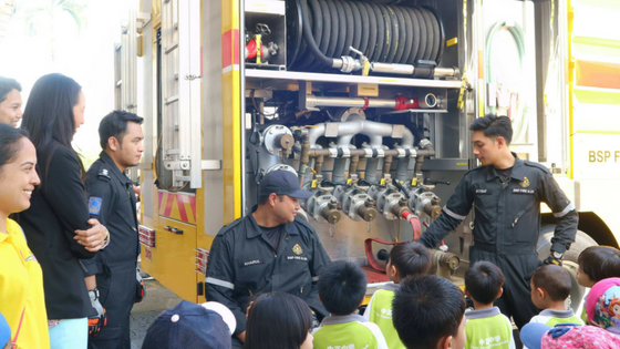 Keenan's Field Trip To BSP Fire Station