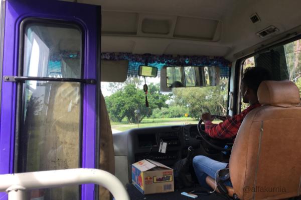 bus laluan belait, pojokmungil, brunei darussalam