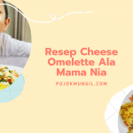 Resep Cheese Omelette