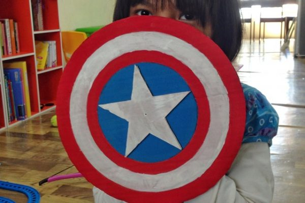 DIY Perisai Captain America