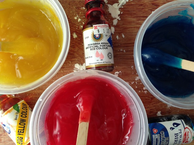 finger paint, homemade finger paint, diy finger paint, sensory play, manfaat finger paint