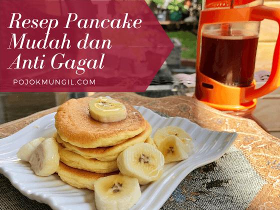 Resep Pancake Anti Gagal Untuk Sarapan