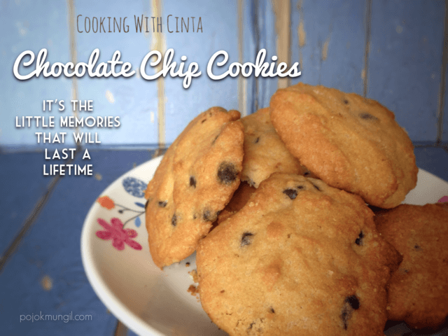 Resep Chocolate Chip Cookies Ala Cinta
