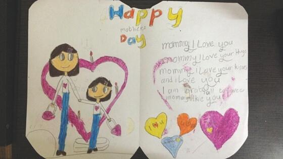 mothers day, handmade card, kids activities