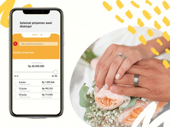 kredit cepat untuk biaya pernikahan