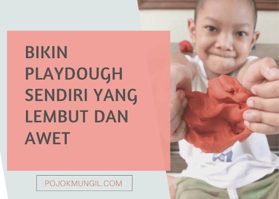 Cara Bikin Playdough Sendiri yang Tahan Lama
