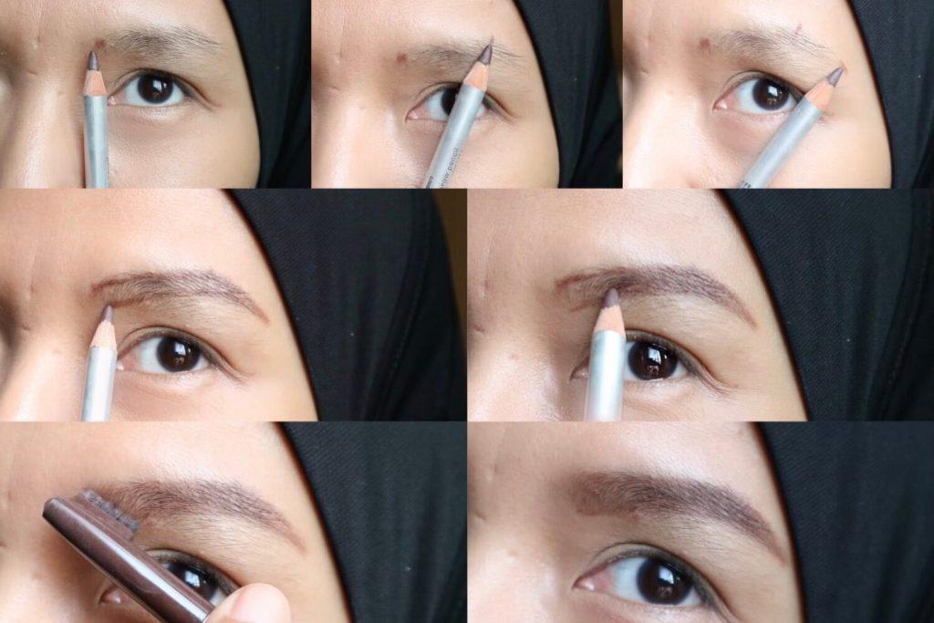 bikin alis makeup untuk pemula