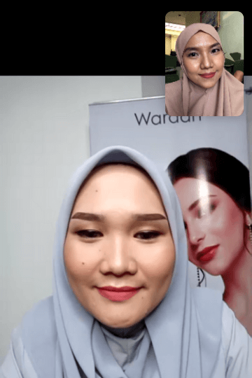 makeup flawless wardah virtual class