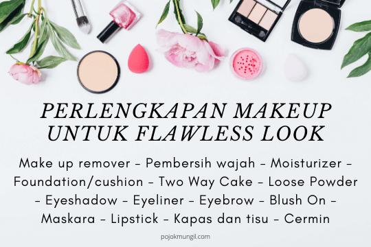 perlengkapan makeup untuk pemula