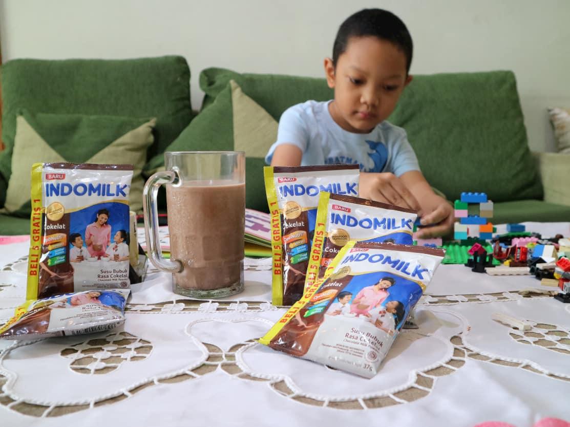 Anak Tumbuh Tinggi, Tangguh, Tanggap dengan Indomilk Susu Bubuk