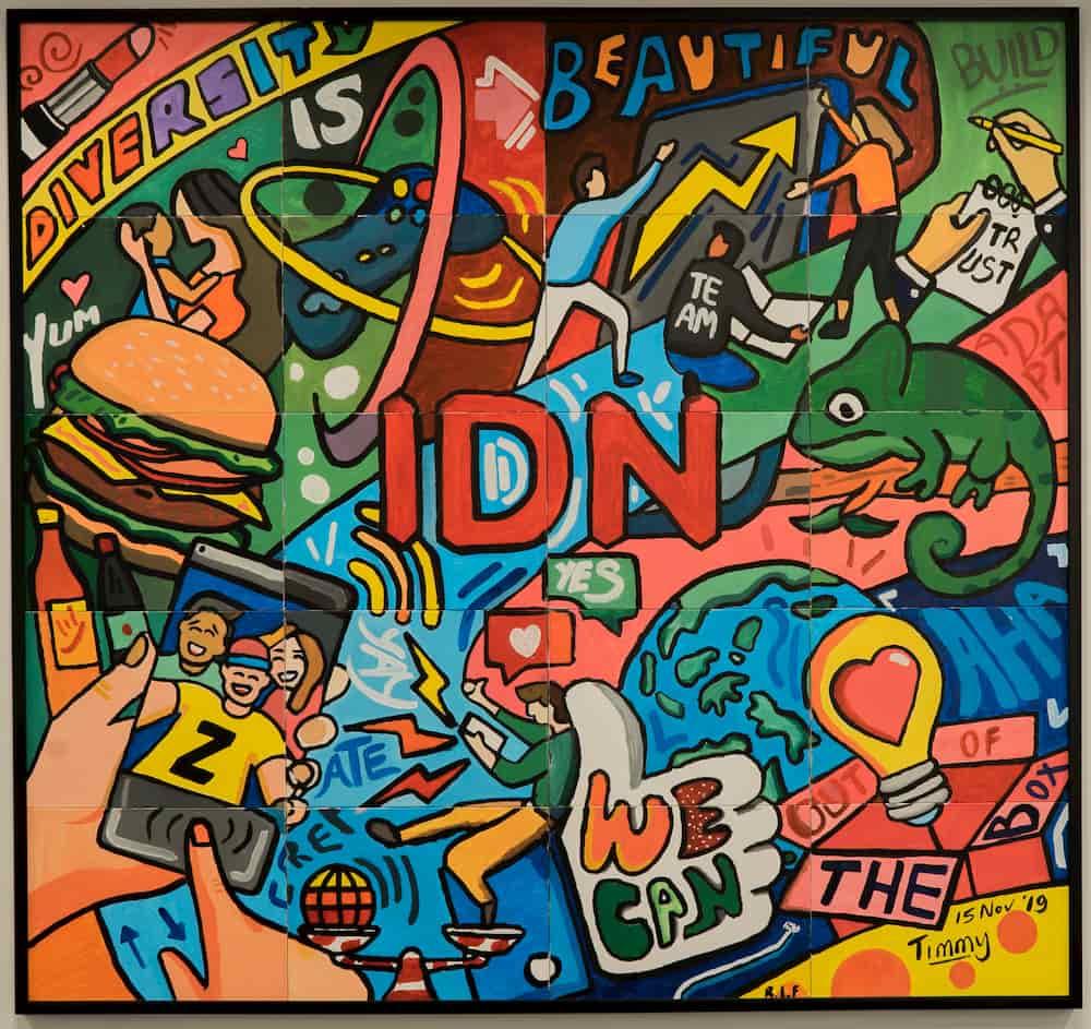 mural idn media