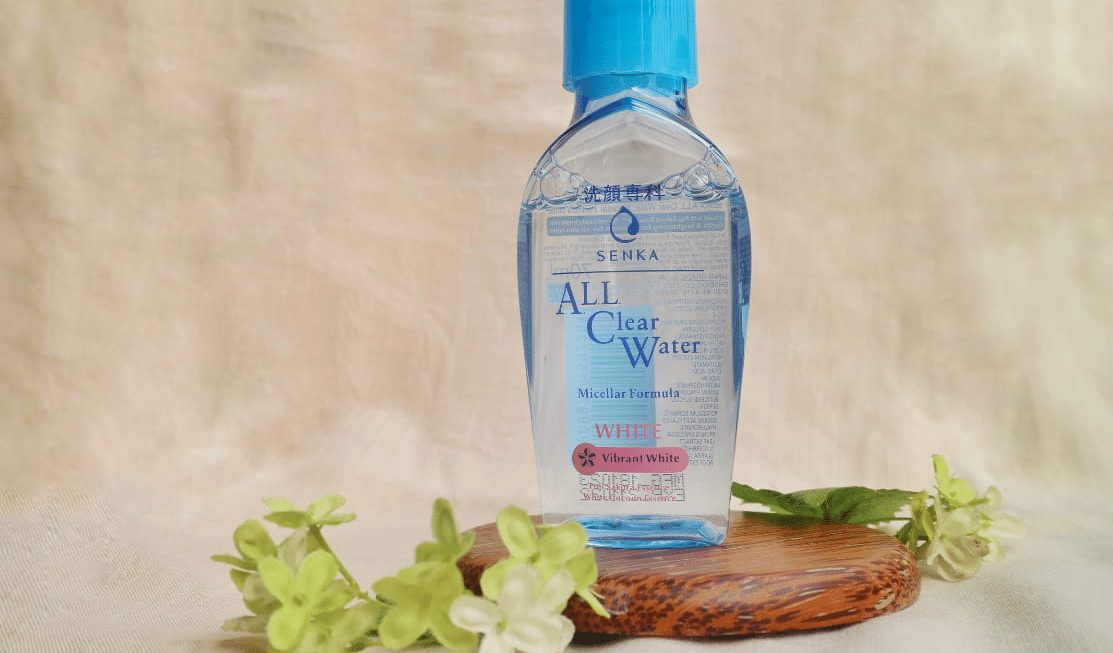 Senka All Clear Water White, Micellar Water Berfungsi Ganda