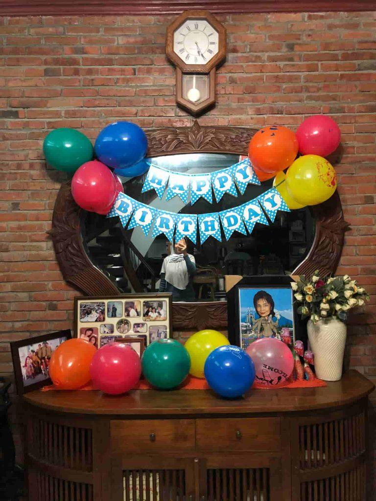 dekorasi pesta ulang tahun di rumaha