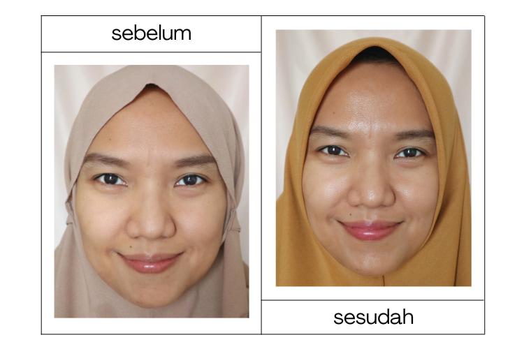 before after avoskin retinol toner