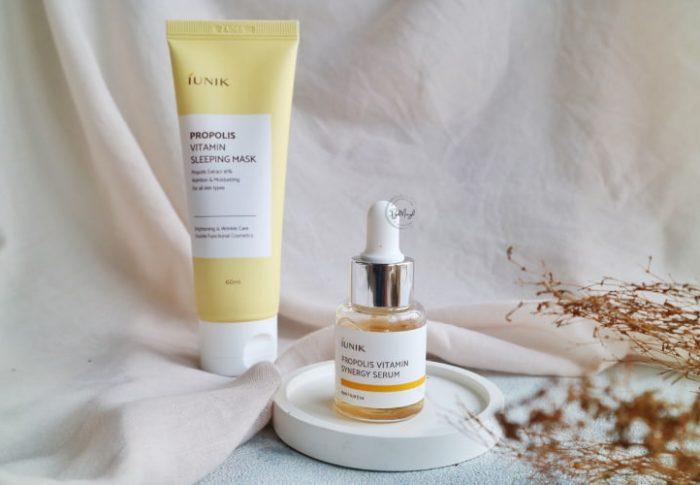 Review iUnik Propolis Edition Skincare Set dari iUNIK Indonesia