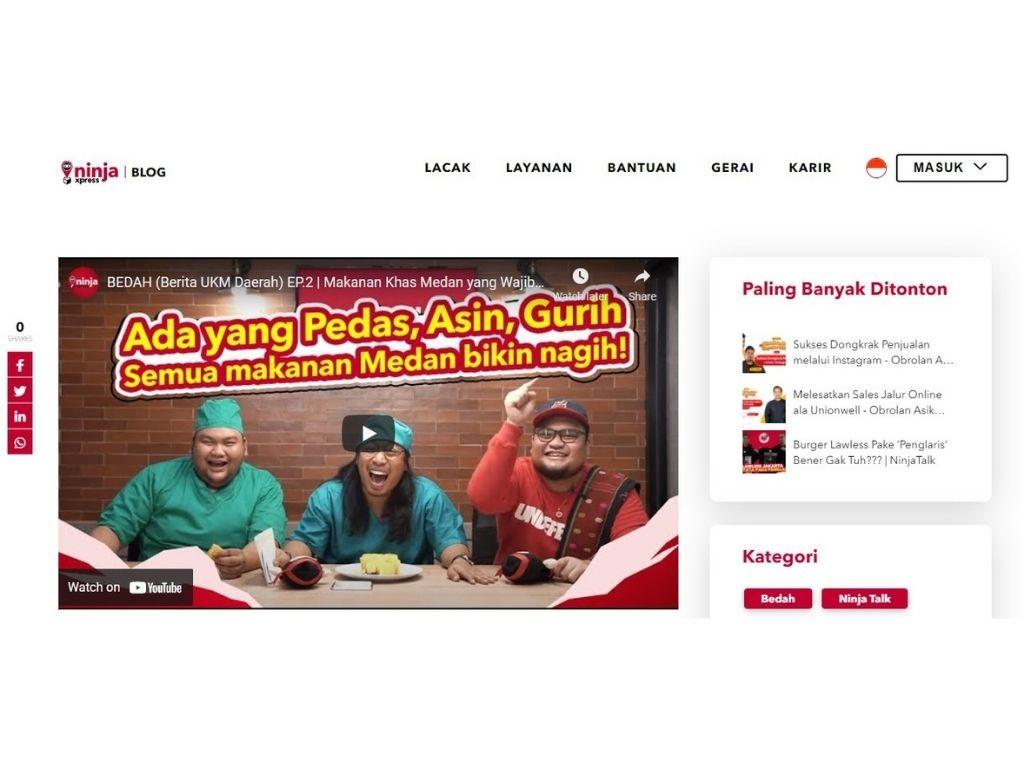 bedah makanan khas Medan