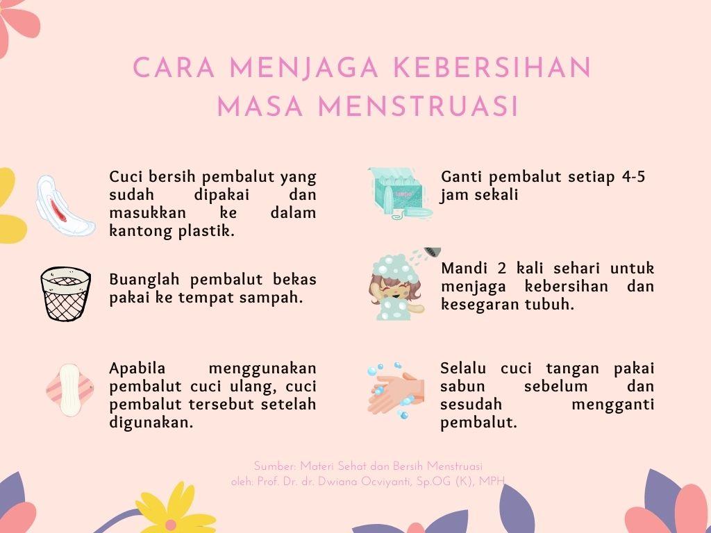 menjaga kebersihan menstruasi