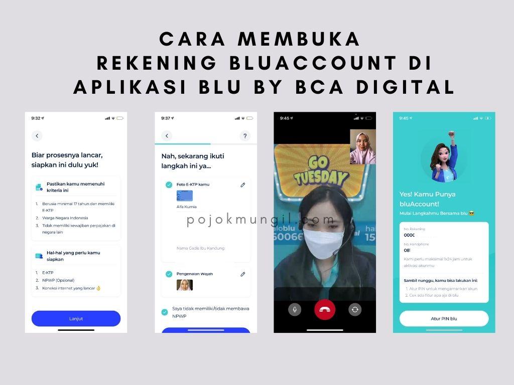 Review Jujur Aplikasi blu cara membuka bluaccount
